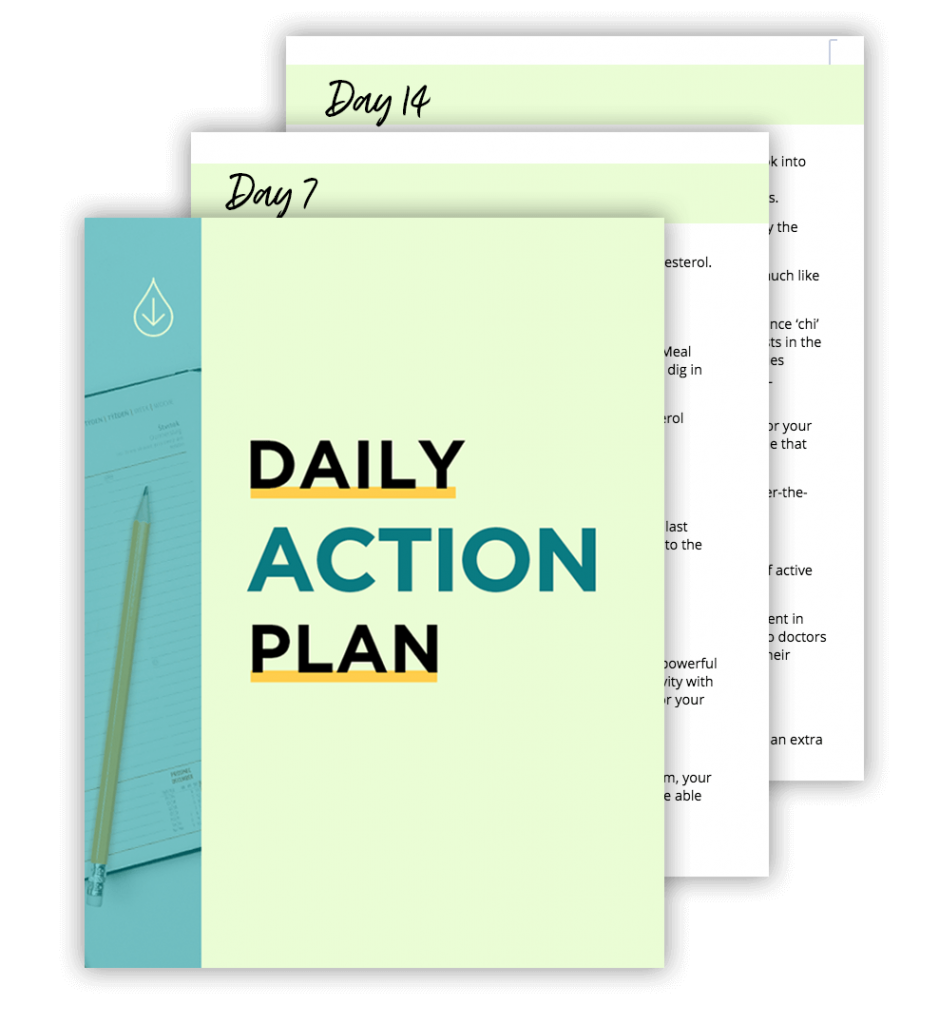 Cholesterol Mastery Daily Action Plan